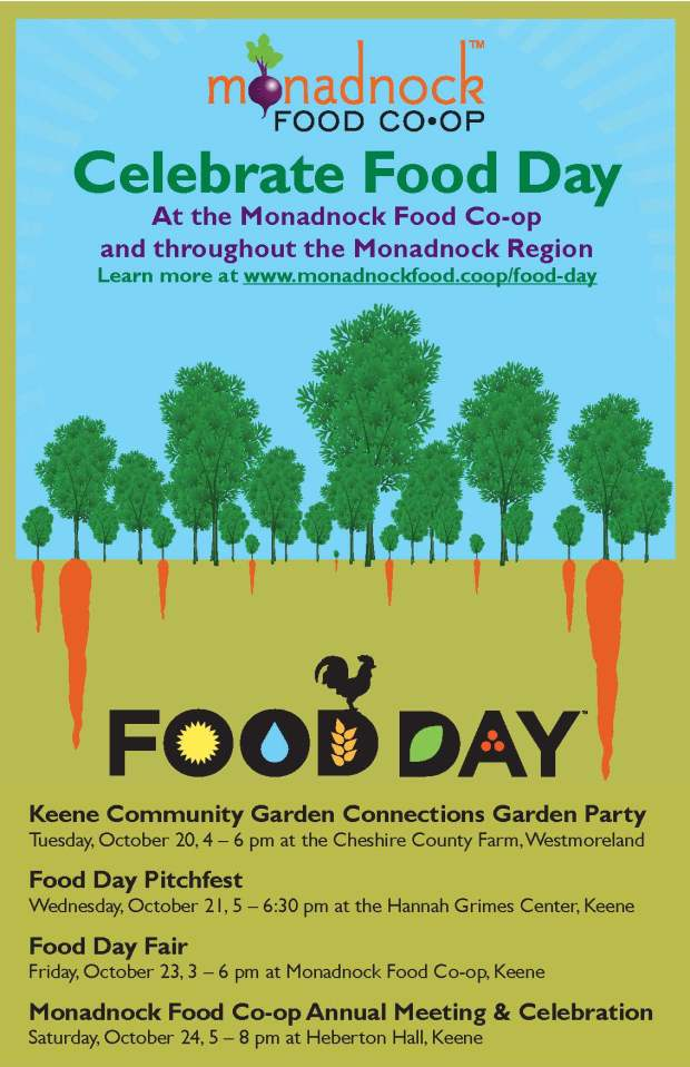 Food Day Monadnock 2015